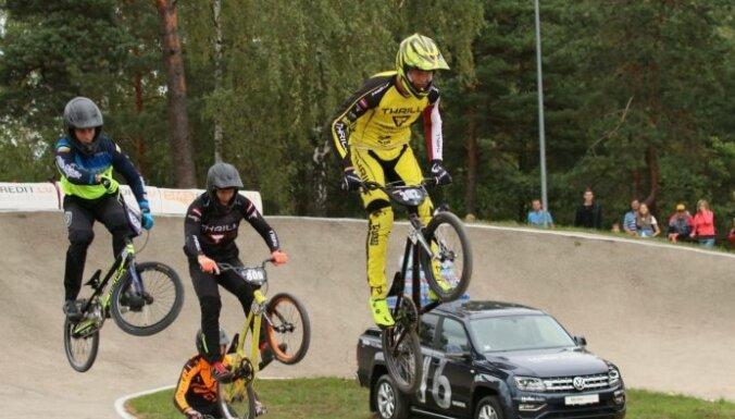 Glāzeram sestā vieta UEC Eiropas BMX kausa otrajā posmā