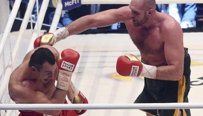 Ukraine Wladimir Klitschko - Britain Tyson Fury