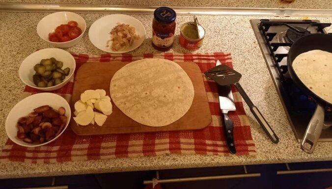 Foto recepte: Tortiljas labam vakaram
