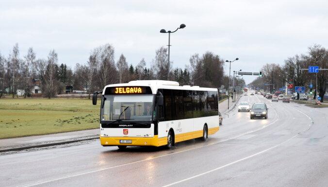 Автобусы Елгава - Рига в рабочие дни могут опаздывать на 40 минут