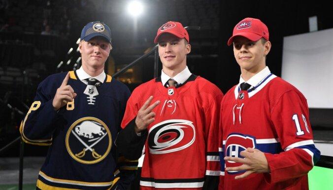 Драфт НХЛ: Четыре россиянина выбраны в первом раунде, одному даже позвонил Овечкин