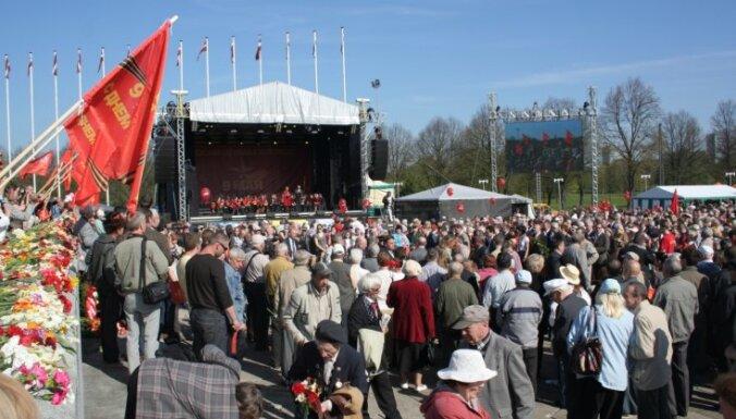 Uzvaras parkā 9.maijā pasākuma organizatori neplāno nekādas politiskās aktivitātes