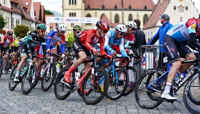 Riteņbraucējs Liepiņš Slovākijas tūri sāk ar septīto vietu