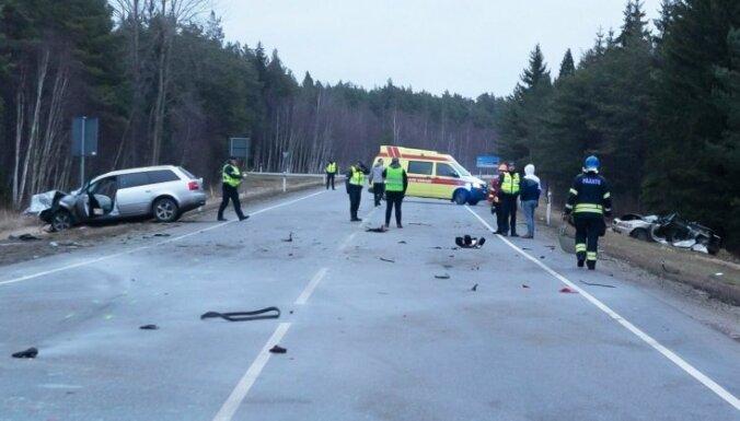 Traģiska avārija Igaunijā – dzērājšoferis izdzēš dzīvību trijās paaudzēs