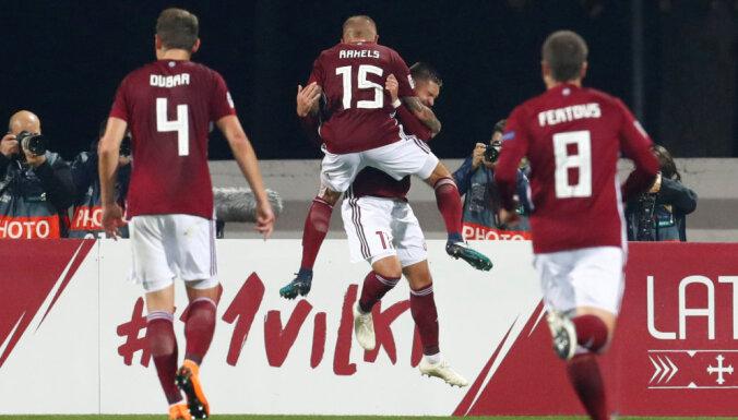 Революция, похищение и две ничьих с Андоррой: чем нам запомнится футбольный год в Латвии?