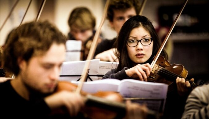 Lielajā Ģildē svētdien viesosies Nīderlandes Nacionālais studentu orķestris