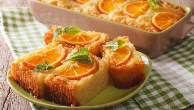 Apelsīnu kūka grieķu gaumē – portokalopita