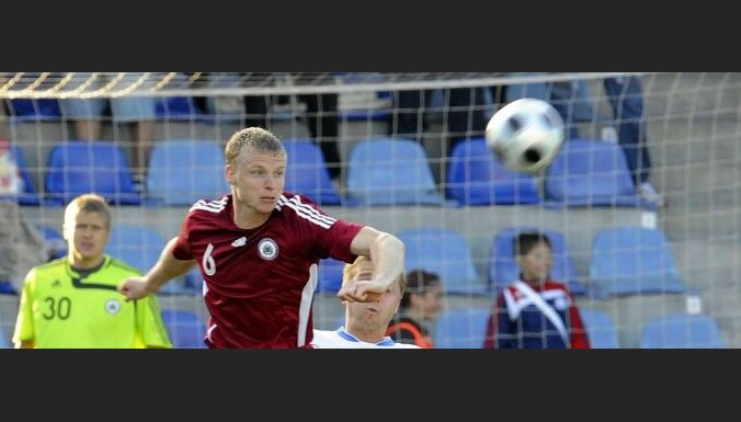 Denis Ivanov, football, Latvian team vs Estonia