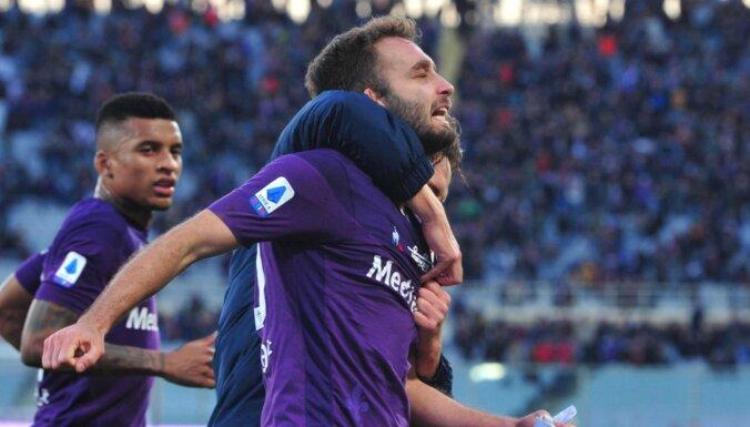 Itālijas futbola līgā ar 'Covid-19' saslimuši jau deviņi futbolisti