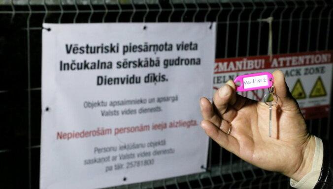 VVD aicina iedzīvotājus nebojāt gudrona dīķu teritorijas infrastruktūru