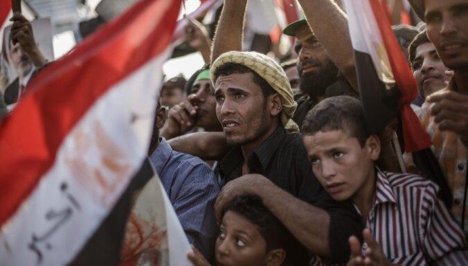 Atkāpusies Ēģiptes valdība