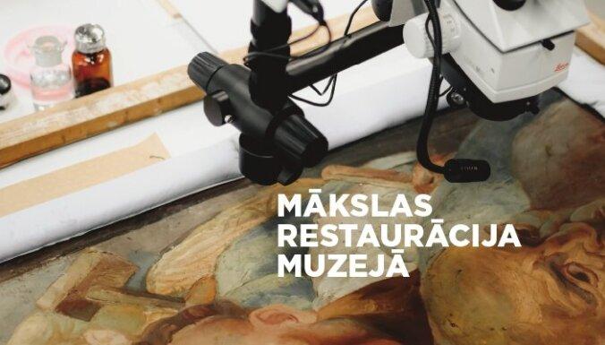 LNMM uzsāk izglītojošu video projektu par mākslas restaurāciju