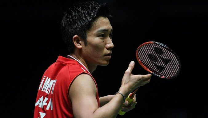 Pasaules badmintona reitinga līderis Momota cietis autokatastrofā Malaizijā