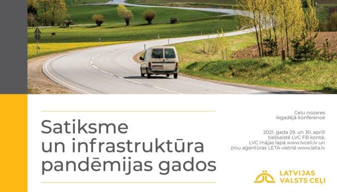 Ceļu nozares konferencē spriedīs par ceļu tīkla nākotni, satiksmes drošību, tehnoloģijām. Ieraksts.