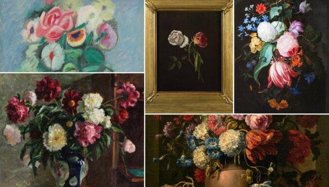 Ziedi skaistumam un mīlestībai pandēmijas laikā. Uzsākta akcija 'Muzeju buķete'