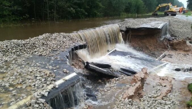 Plūdi Latgalē un Vidzemē izpostījuši arī meliorācijas sistēmas
