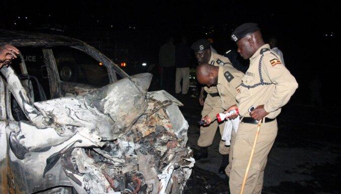 Degvielas vedēja ugunsgrēkā Ugandā iet bojā 31 cilvēks