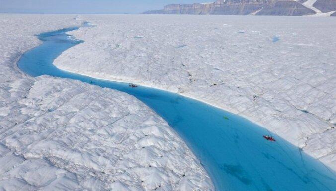 Ledus daudzums Arktikā katru dienu sasniedz jaunu rekordzemu līmeni