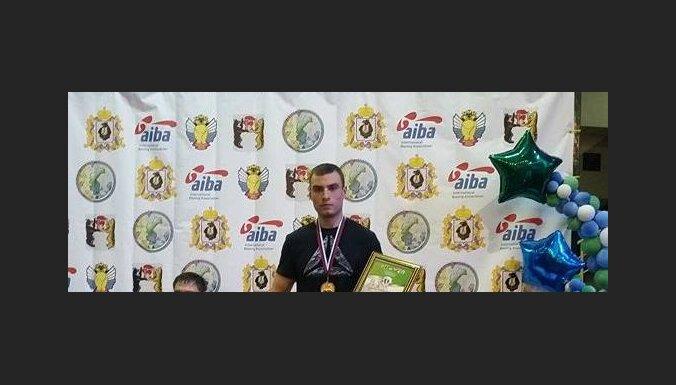 Рижский боксер Левша завоевал бронзу в Хабаровске