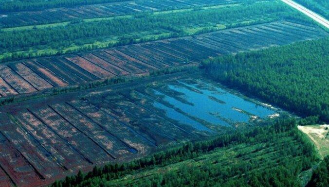 Добыча торфа в Латвии превысила рубеж в миллион тонн