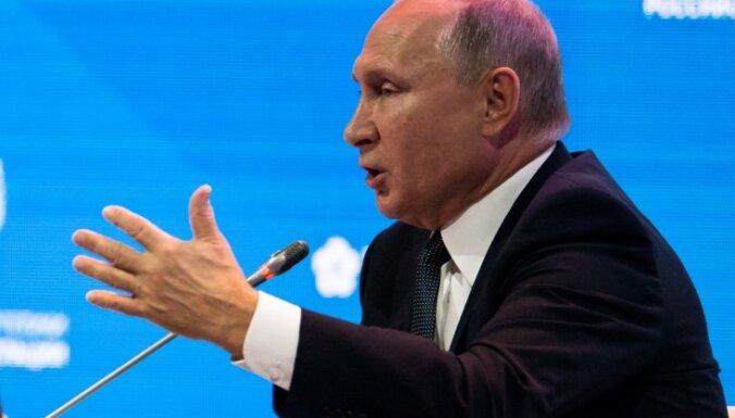 Putins saindēto Skripaļu nosauc par 'neģēli'
