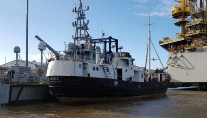 У берегов Британии перехвачено судно с 69 нелегалами: задержан гражданин Латвии и украинцы
