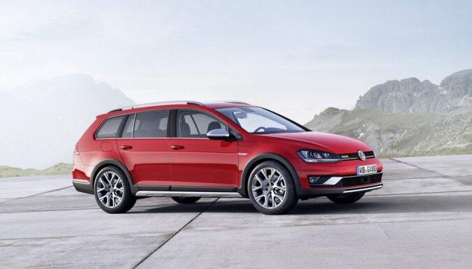 'VW Golf Alltrack' – paaugstinātas pārgājības universālis