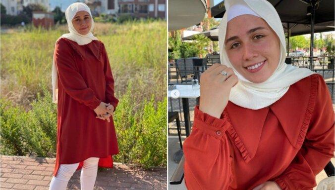 22-летняя латвийская штангистка Ребека Коха приняла ислам