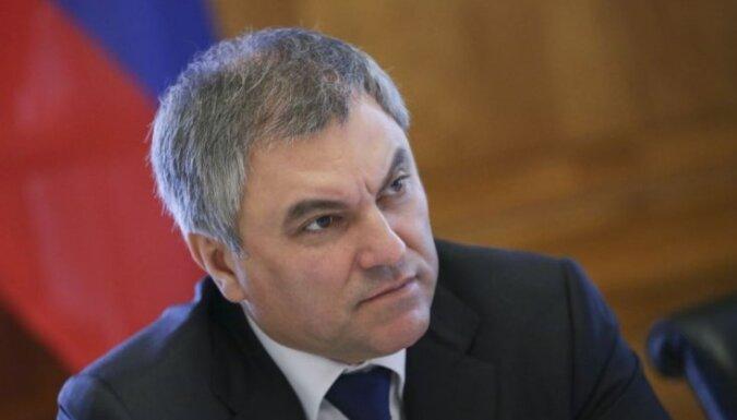 Спикер Госдумы пригрозил выходом РФ из Совета Европы