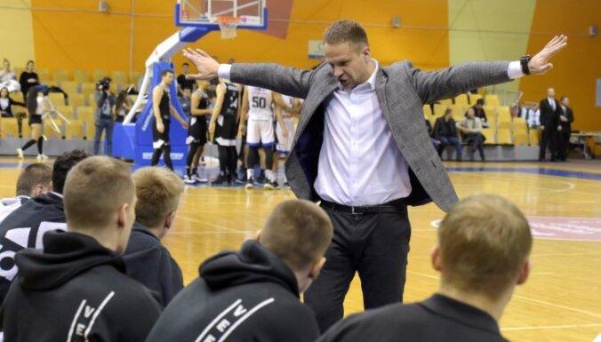 'VEF Rīga' treneris Gailītis par atspēlēšanos: paldies spēlētājiem, ka nekļuva nepacietīgi