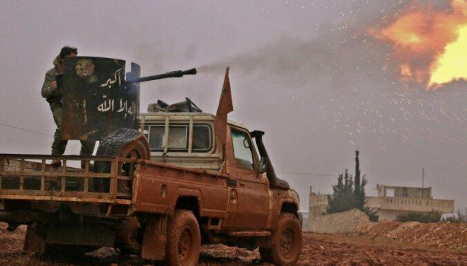 Sīvā kaujā pret 'Daesh' Sīrijā krituši 14 turku karavīri