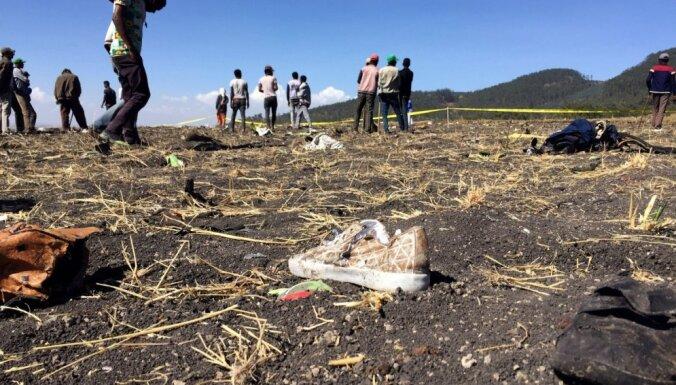 Сведений о латвийских подданных, которые могли бы пострадать в авиакатастрофе в Эфиопии, нет