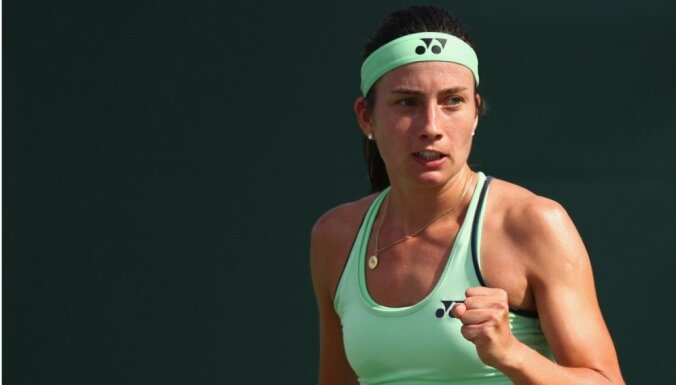 Sevastova WTA rangā sasniedz jaunu karjeras rekordu