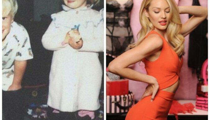 ФОТО: Как выглядели знаменитые модели в детстве и выглядят сейчас?