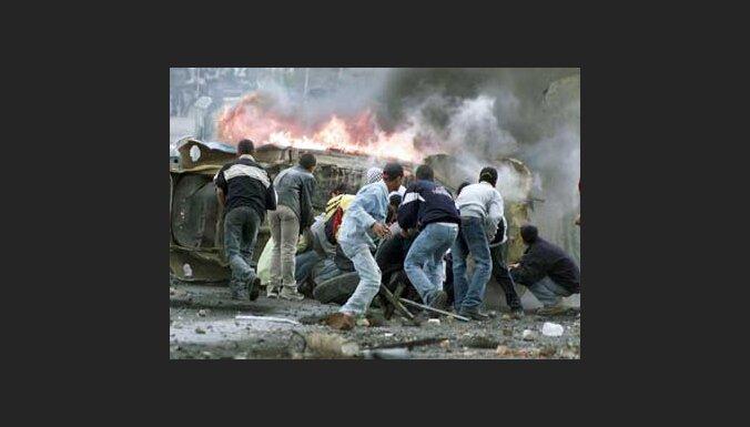 Столкновения палестинцев с израильтянами