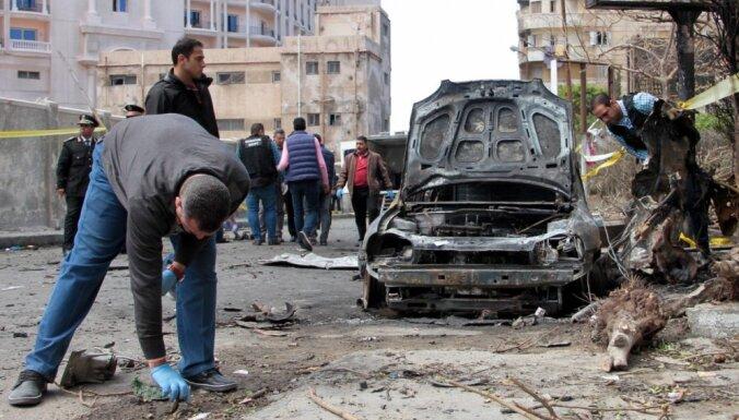 Ēģiptes policija par sprādziena sarīkošanu nogalina sešus teroristus