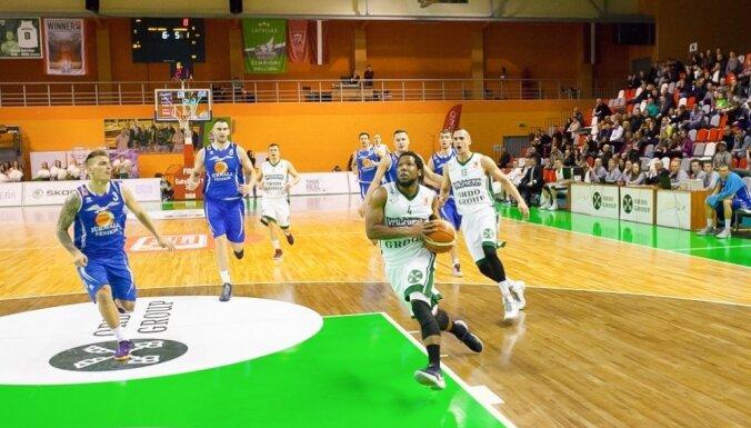 'Ventspils' basketbolisti neizmanto iespēju uzvarēt regulārajā turnīrā
