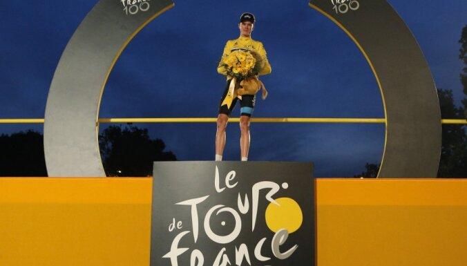 Smukulis: 'Tour de France' uzvarētājs Frūme bija izteikti pārāks pār citiem