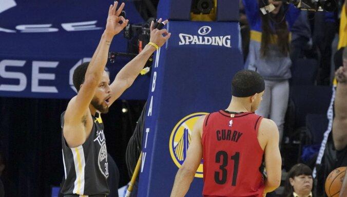 Karijs nodrošina 'Warriors' komandai otro uzvaru Rietumu konferences finālā