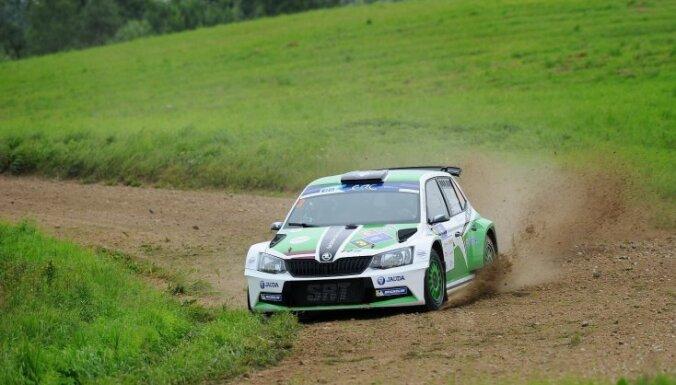Lukjaņuks ātrākais 'Rally Liepāja' kvalifikācijas ātrumposmā; Sirmacis trešais