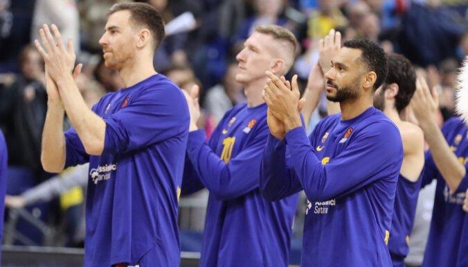 Šmits nespēlē 'Barcelona' uzvarā Berlīnē ULEB Eirolīgas mačā