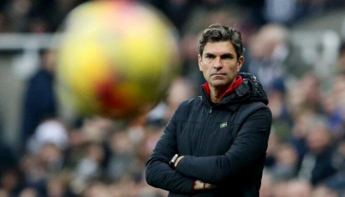 'Southampton' pēc septiņiem mēnešiem atbrīvo no amata galveno treneri Pelegrīno