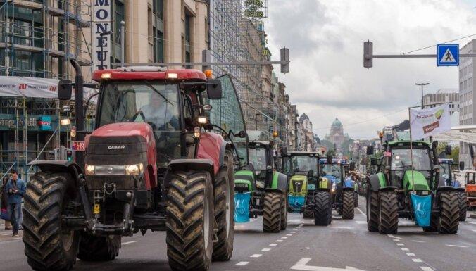 Балтийские фермеры будут протестовать в Брюсселе против несправедливой сельскохозяйственной политики