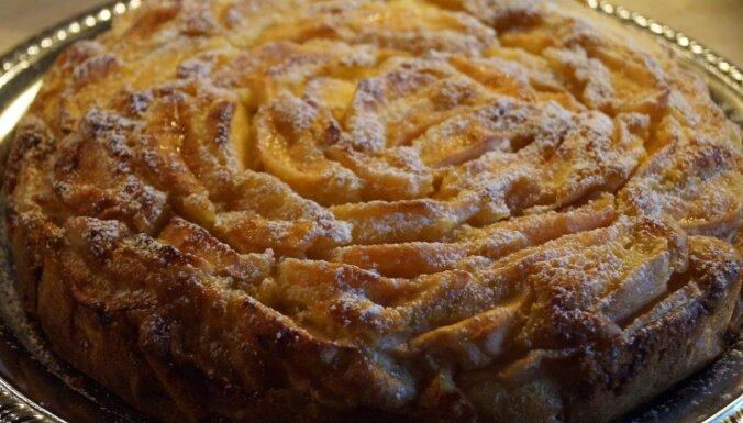 Foto recepte: Šveices ābolkūka bez mīklas rullēšanas