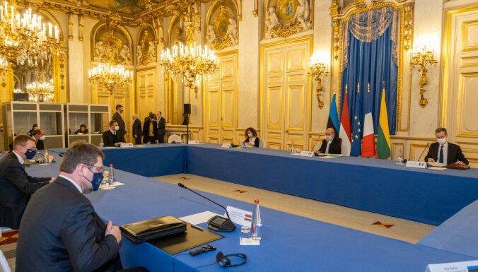 Rinkēviča darba vizīte Francijā: Baltijas valstis un Francija stiprinās stratēģisko partnerību