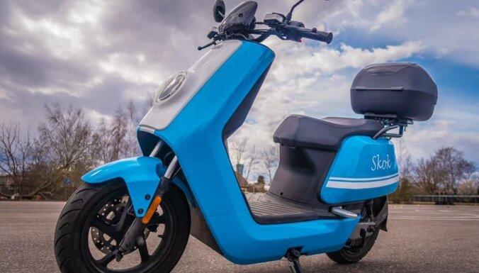 'Skok' gatavs būtiski paplašināt motorolleru nomas pakalpojumu
