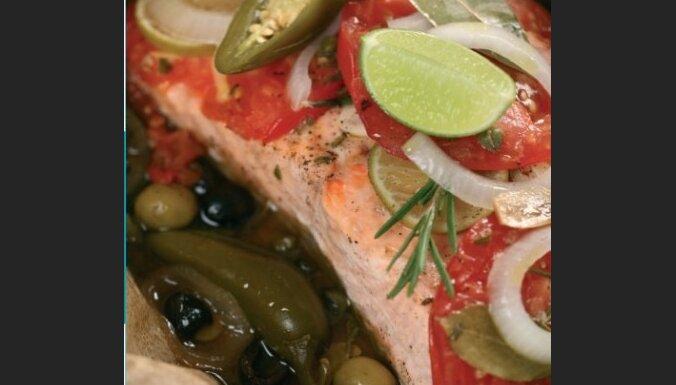 Meksikāņu ēdiens: Pescado a la Veracruzana