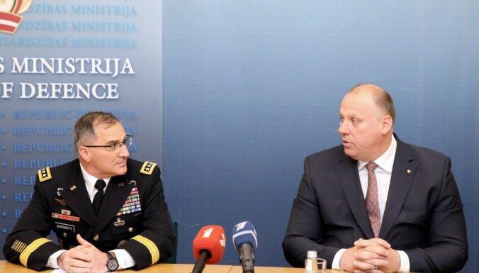 Latvija apzinās draudus, pēc tikšanās ar ģenerāli Skaparoti atzīst Bergmanis
