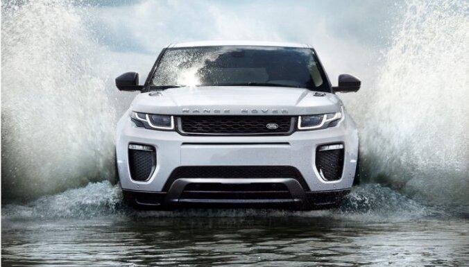 Modernizētais 'Range Rover Evoque' apvidnieks