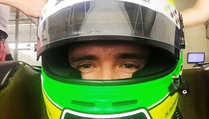 Šlēgelmilhs kā atpalicējs finišē F-3 Eiropas čempionāta posma pirmajā braucienā
